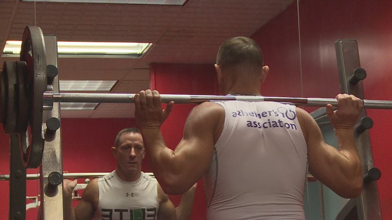 Elite Physical Therapy Director, Dan Donnelly is working out to raise money for the Alzheimer's...