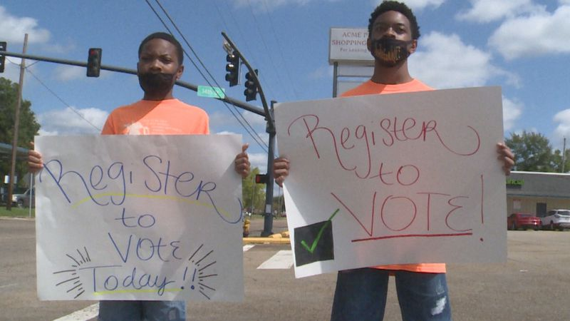 As the election nears, local organizations are making a push to get residents registered to...