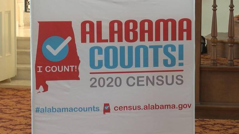 U.S. Census Bureau sign