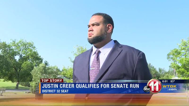 Justin Curtis Creer in the running for District 32 Senate