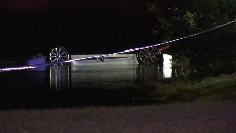 A car similar to Louis Nix III's was pulled from a pond near his home in Jacksonville on...