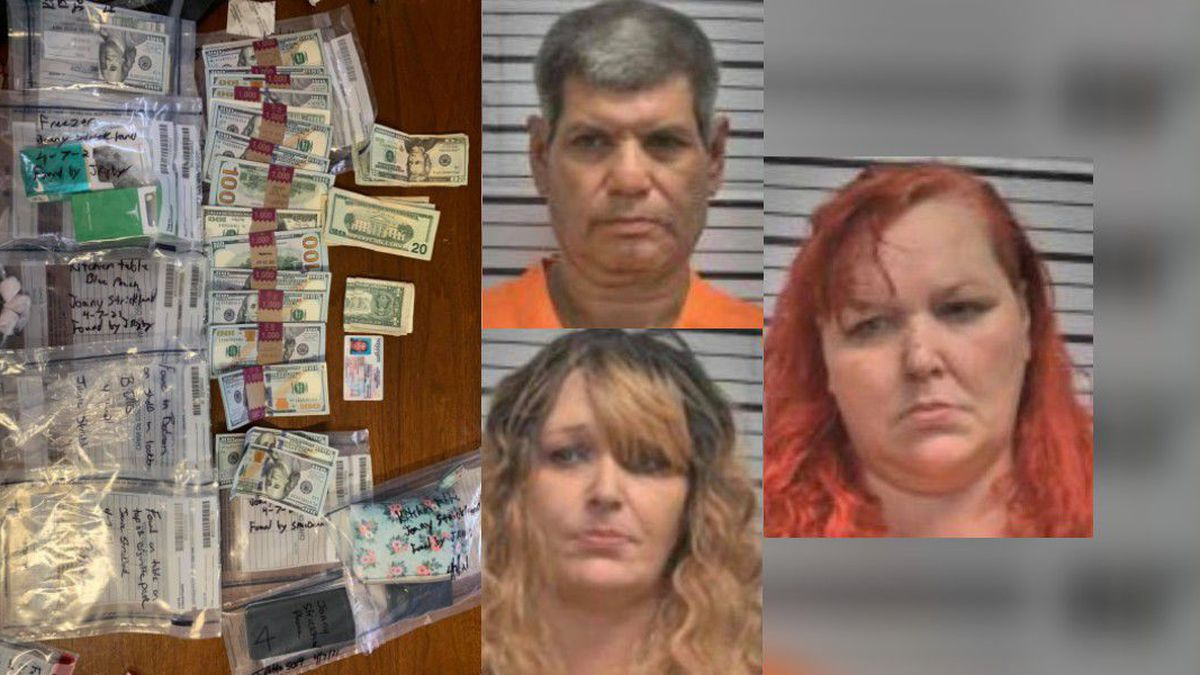 Scott County narcotics agents and Mississippi Bureau of Narcotics agents made three arrests...