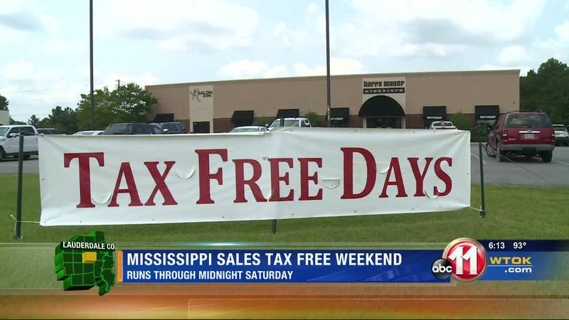 Area retailers excited about Mississippi's sales tax-free weekend