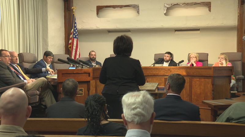 The Lauderdale County Board of Supervisors held a public hearing in regard to the new proposed...
