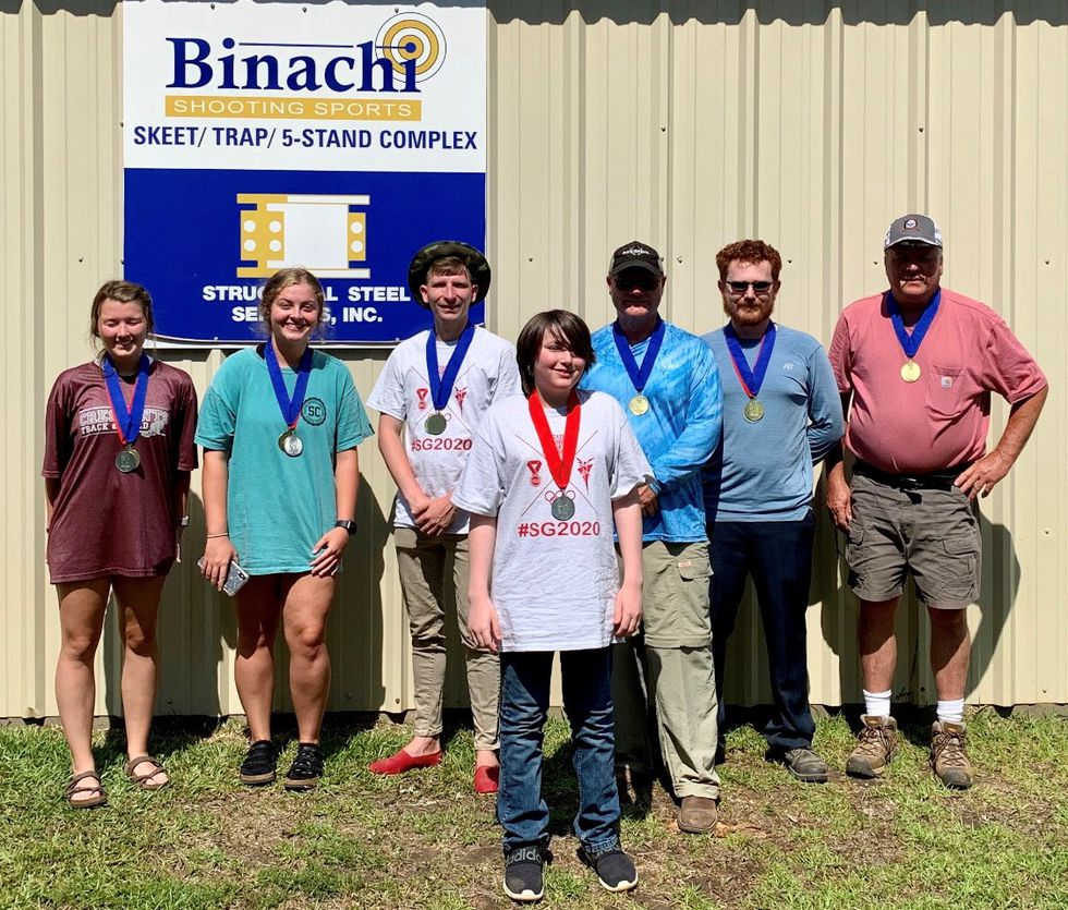 Winners of the Archery State Games of Mississippi