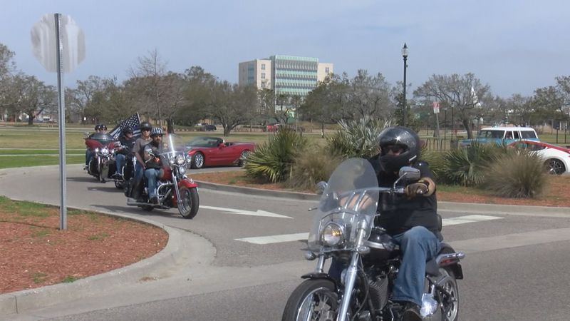 Some of South Mississippi's finest set of wheels revved up their engines down Highway 90 for...