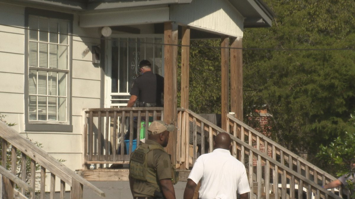Police investigating double homicide.