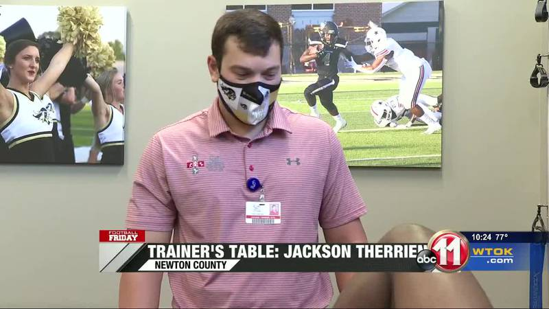 Trainer's Table: Jackson Therrien (Newton County)