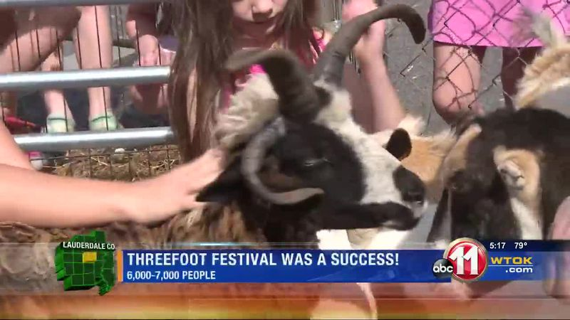 The Threefoot Festival was a success!