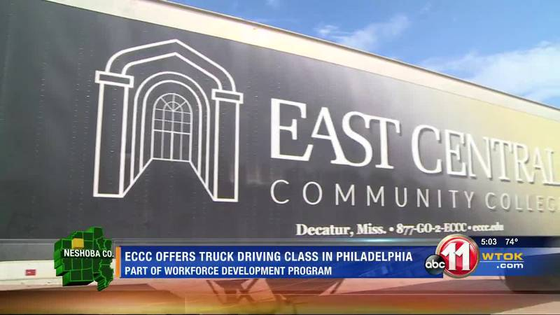 ECCC offering two-month program to earn truck driving skills