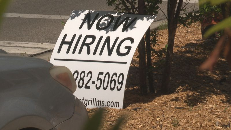 Some employers are finding it hard to get people to apply.