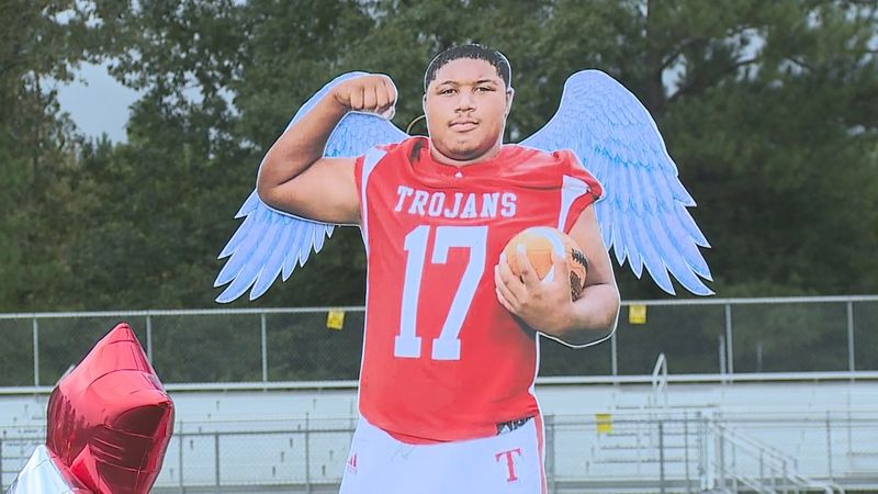 Northeast Lauderdale High School honor Corey Moss