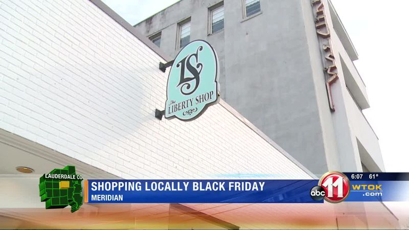 Shopping locally for Black Friday