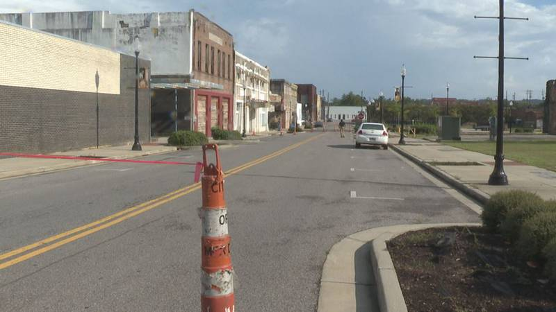 25th Avenue between 5th and 6th streets in Meridian has been closed due to the potential...