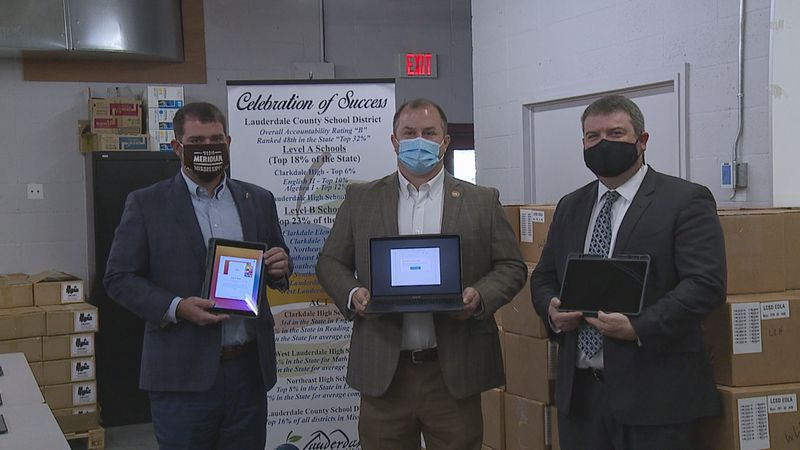 New Devices Delivered to LCSD