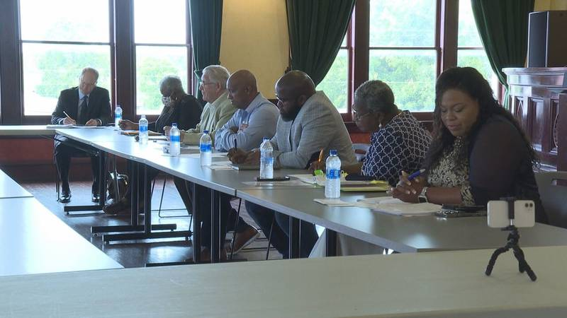 The Meridian City Council voted to move funds from the police department to public works.