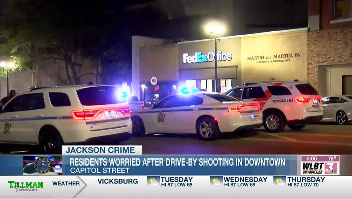 Jackson residents frustrated and call for more to be done to increase safety after drive-by...