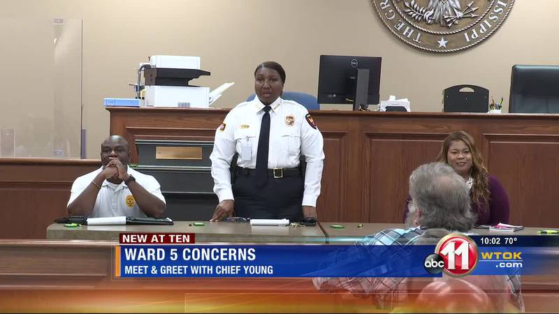 Chief Young talks Meridian crime, offers condolences to families of victims