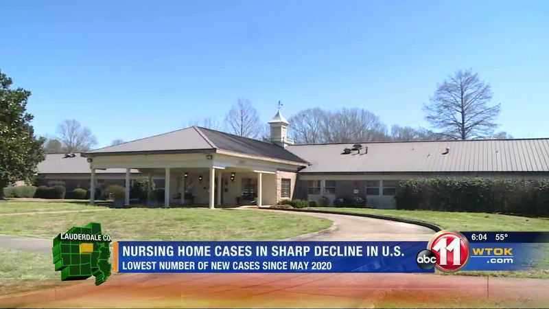 COVID cases on a dramatic decline in nursing homes