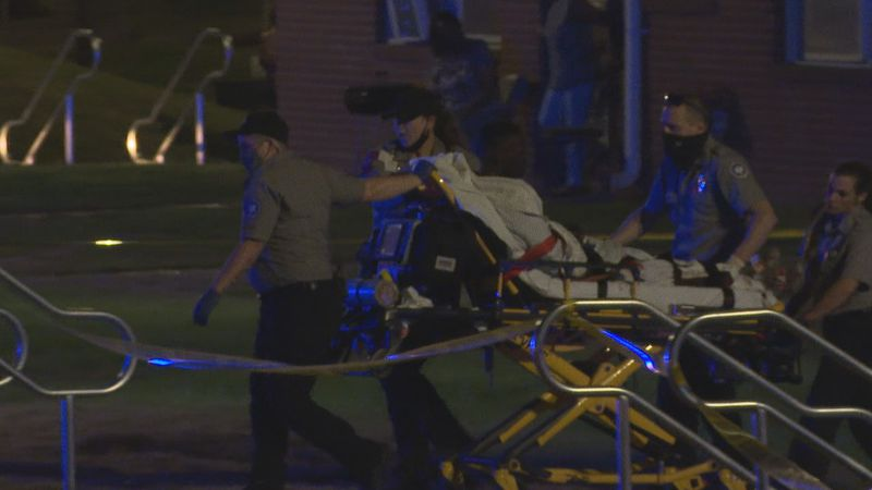 The Meridian Police Department said one person was shot in both legs outside an apartment...
