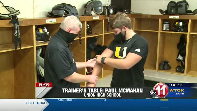 Trainer's Table: Paul McMahan (Union)