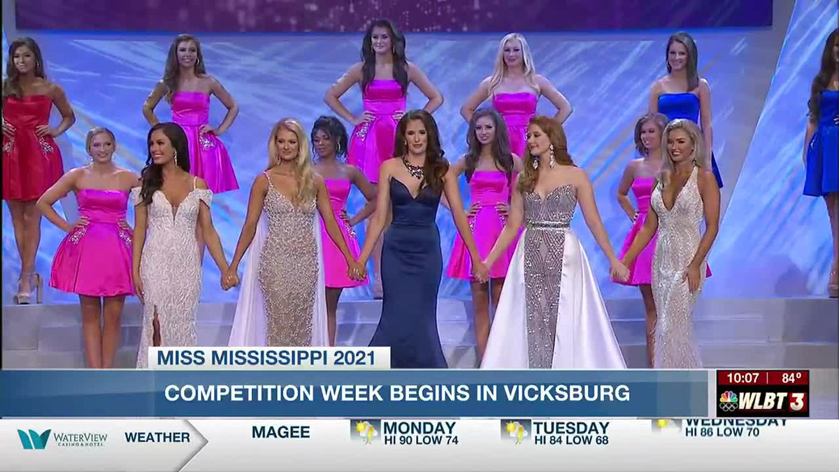 Miss Mississippi competition begins Monday.