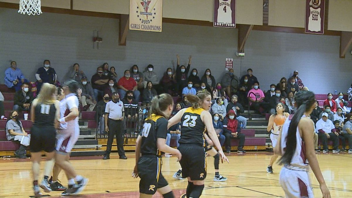 Choctaw Central girls basketball defeated Ripley 56-40 in the MHSAA Class 4A playoffs