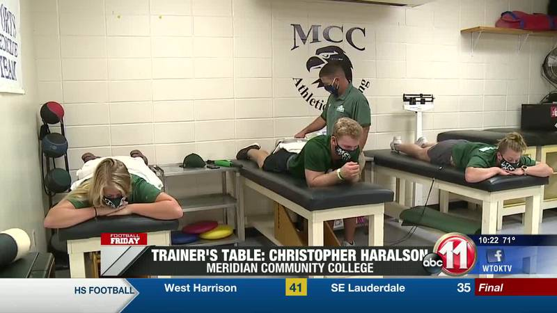 Trainer's Table: Christopher Haralson (West Lauderdale/MCC)