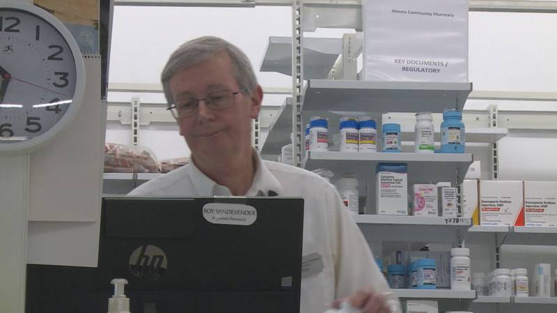 Members of the Vandevender family have been pharmacists in Kemper County for generations.