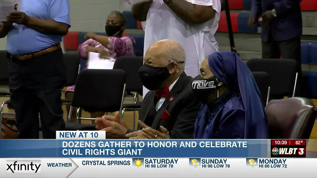 Honoring and celebrating a civil rights giant who spent decades fighting for racial equality