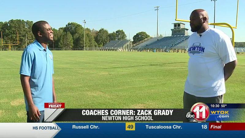 Coaches Corner: Coach Zack Grady (Newton Tigers)