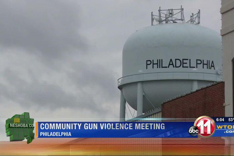 Community meets to stop gun violence