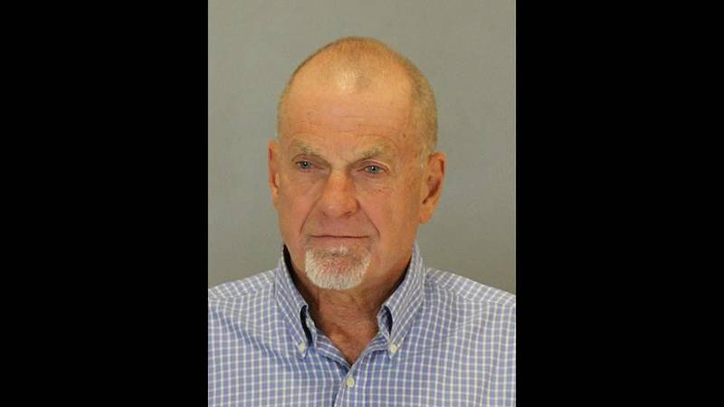 Cliff Emerson, 67, was arrested Wednesday, Sept. 22, 2021, at Eppley Airfield in Omaha.