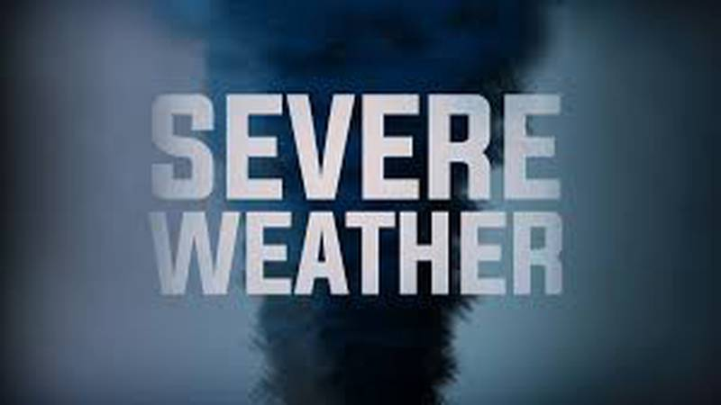 Severe weather will impact the region Wednesday.