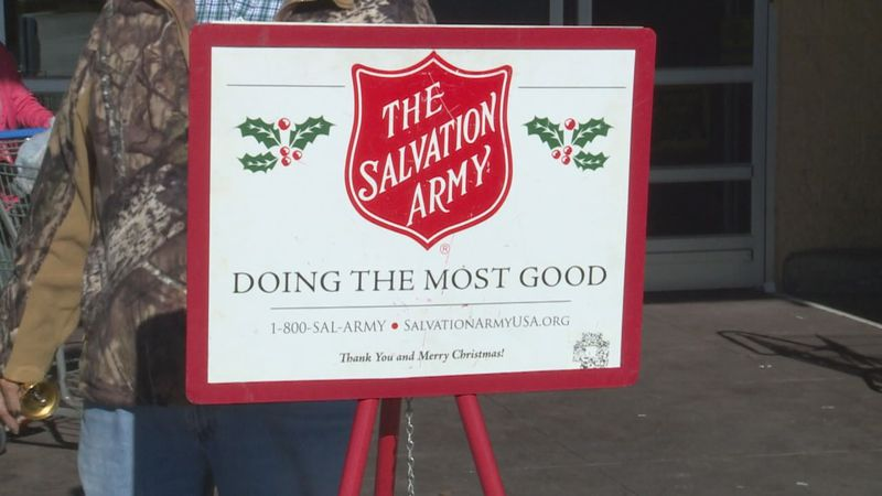 This Saturday is the kickoff of the Salvation Army's annual Red Kettle campaign at Uptown Mall...