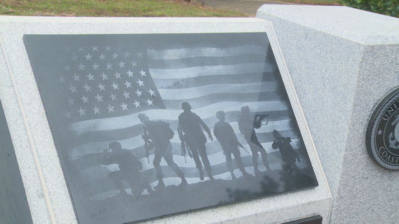 The $100,000 project was unveiled on Veteran's Day.