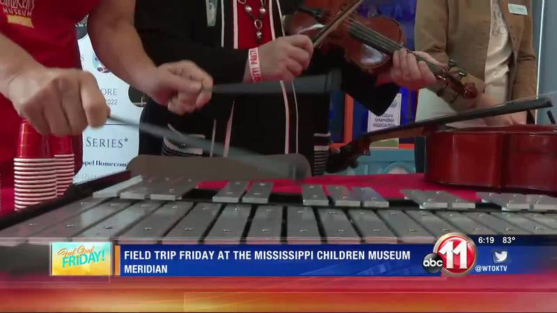 Field Trip Friday at Mississippi Children's Museum