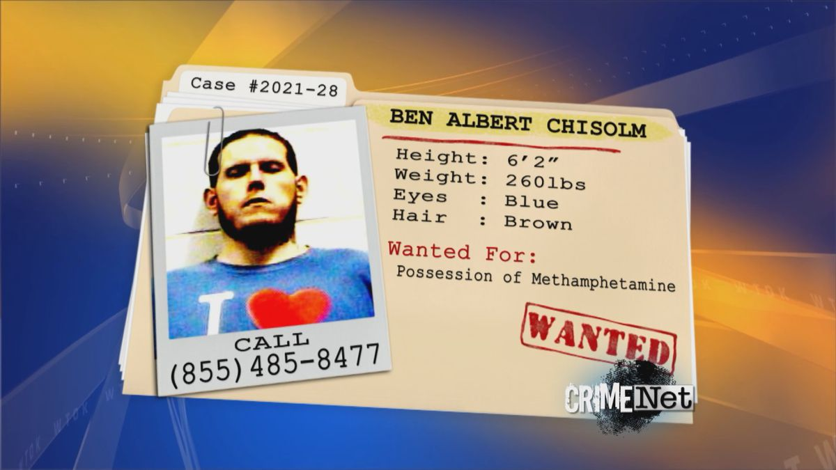 The Lauderdale County Sheriff's Department needs your help to locate Ben Albert Chisolm.