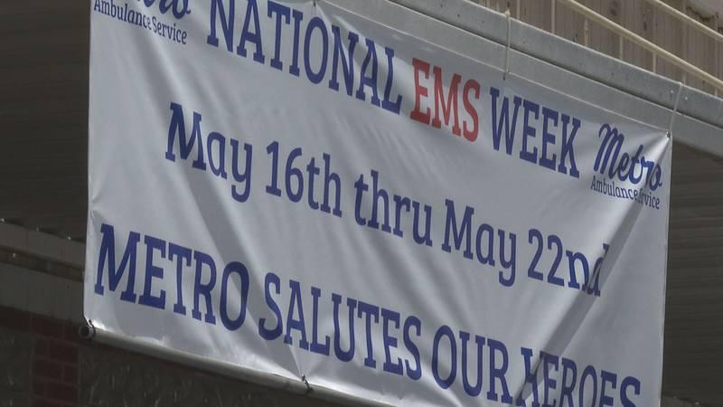 Metro celebrated National EMS Week.