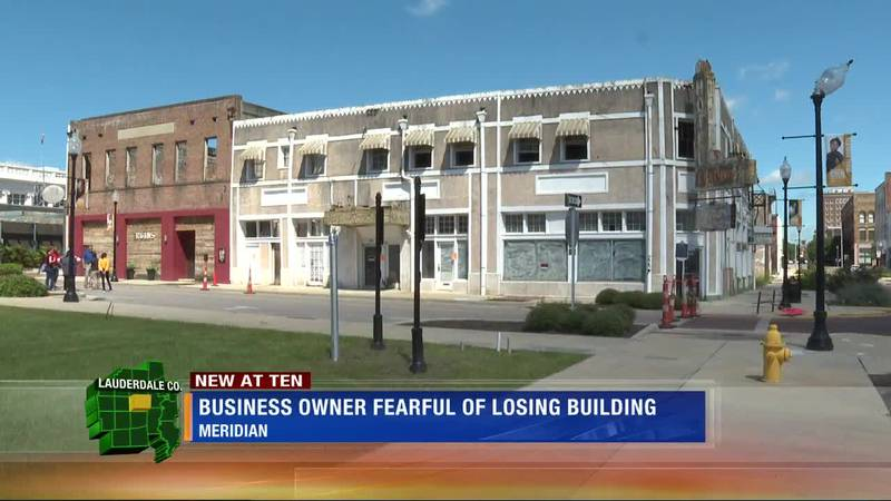 Local business owner fearful of losing building