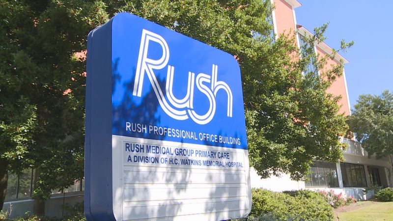 Rush Foundation Hospital.