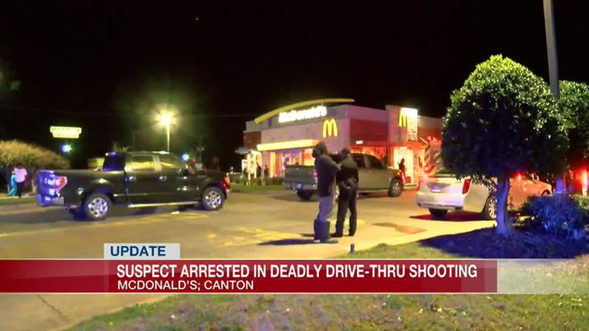 Authorities arrested a suspect in the deadly shooting at a McDonald's location in Canton.