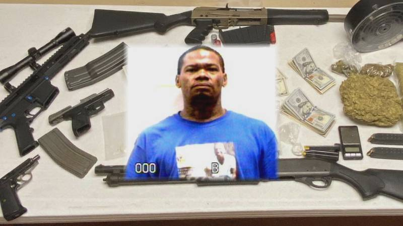 Kodi Davidson Sr., faces several drug charges.
