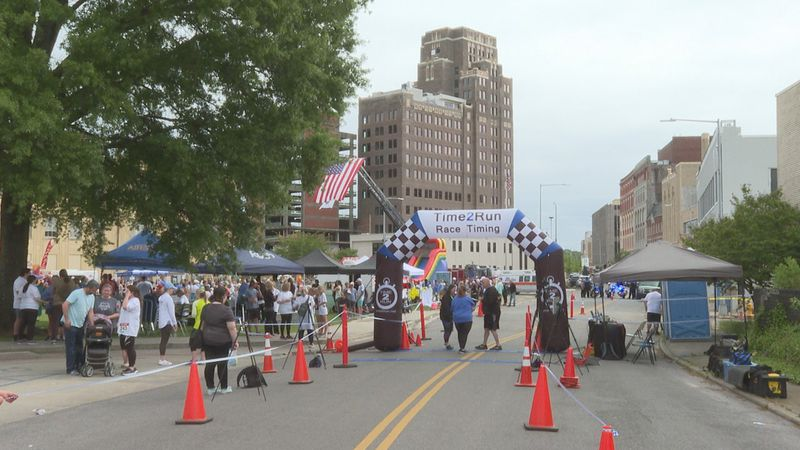 The 4th Annual Allie Cat Run and Festival was held at the Meridian City Hall lawn - all to...