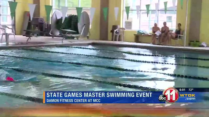 State Games Swimming