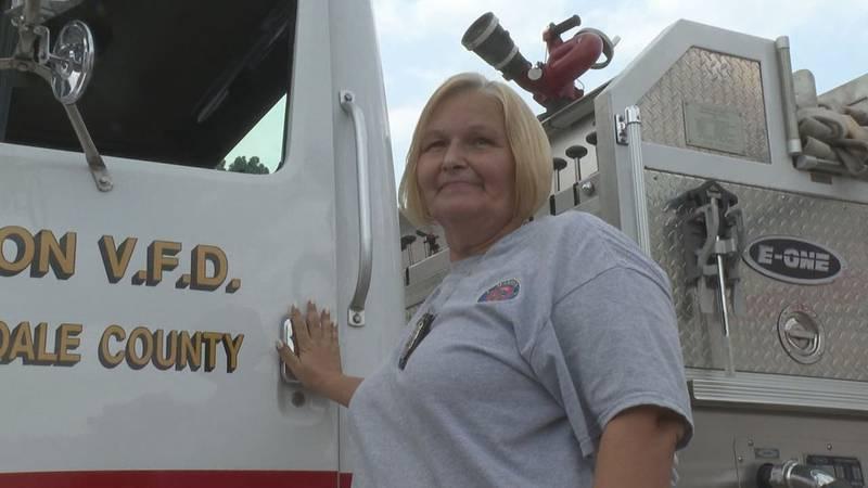 Marion Firefighter Barbara Crawford