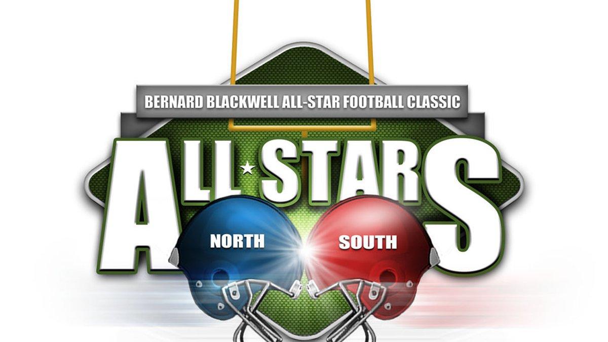 The Bernard Blackwell All-Star Football Classic logo.