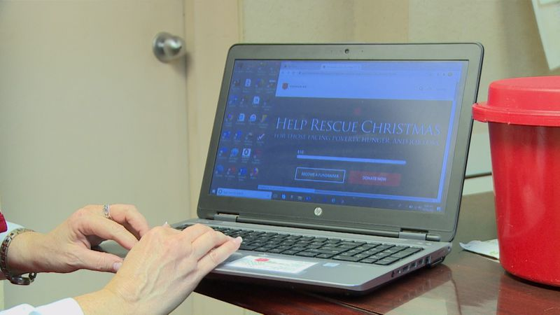 """Salvation Army launches online """"Red Kettle"""" for contact-less donations."""