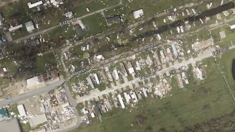 Aerial images show birds-eye view of Hurricane Ida's aftermath