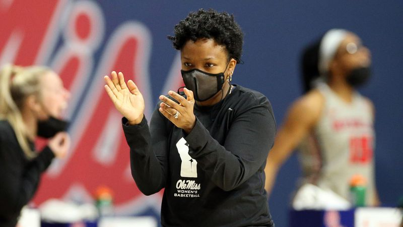 Coach Yolett McPhee-McCuin was hired by Ole Miss in 2018. She is hoping to guide the Rebels to...